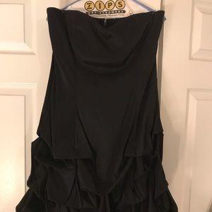 Black Sleeveless formal dress from Torrid